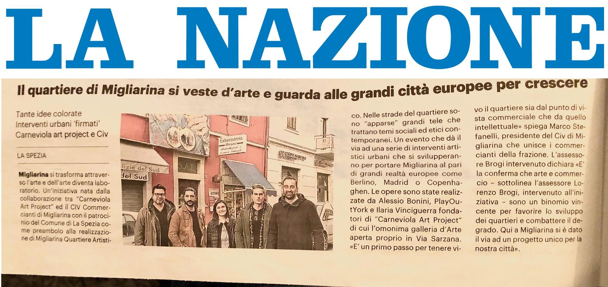 With These Eyes - Migliarina quartiere dell'Arte - Alessio Bonini artista genovese